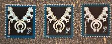 2004 2006 2007USA   #3750  3752 3753  2c  Navajo Jewelry  -  Mint NH  (Set of 3)