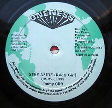 "JIMMY CLIFF step aside roots gir b/w version Jamaica pressing reggae 12"""