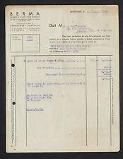 """HARAUCOURT (08) MEUBLES & JOUETS pour ENFANTS """"BERMA"""" en 1950"""