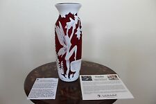 Fenton Fairy Frolic Vase Ltd #114 of 125