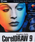 CorelDRAW 9 Graphics Suite with CorelDRAW9 & Photo-Paint9 and more! 3 Disk Set