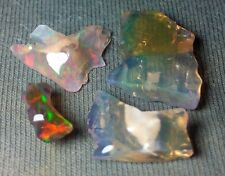 Indonesian Crystal Opal - 6.7 cts - 4 Pieces - Some Fire