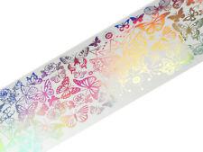 100cm Holo Transfer Folie Nailart Hologramm Glitzer Schmetterling #1535-09
