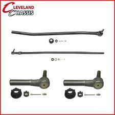 Steering Kit 2 Drag Link 2 Tie Rod Ends Ford F350 4WD 85-97