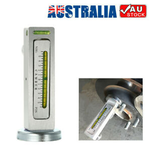 Auto Car Camber Castor Strut Wheel Alignment Adjustable Magnetic Gauge Tool