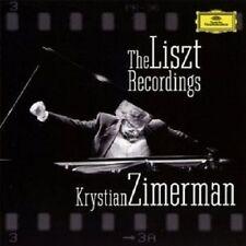 """KRYSTIAN ZIMERMAN """"THE LISZT RECORDINGS"""" 2 CD NEU"""