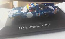 alpine prototype a210   1966  1/43  le mans 1968