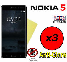 3x HQ MATTE ANTI GLARE SCREEN PROTECTOR COVER SAVER FILMS GUARDS FOR NOKIA 5