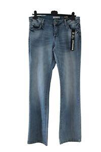 Damen Jeans Hose BOOTCUT Blind Date NEU Größe W32 W33 L34