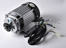 750W watt 48V DC Electric eATV Quad GoKart Brushless Motor DIY Gear Reduction