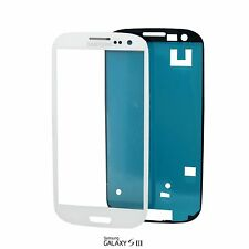 Samsung Galaxy S3 Display Glas i9300 i9305 Weiss White Touchscreen Front Glass