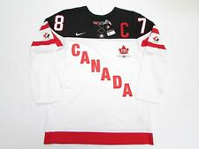 SIDNEY CROSBY IIHF TEAM CANADA 100th ANNIVERSARY NIKE HOCKEY JERSEY SZ MEDIUM