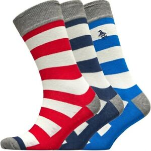 Original Penguin Von Munsingwear Herren Drei 3 Stück Socken