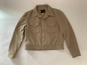 Vtg 60s 70s Leisure Suit Jacket POLYESTER Coat Disco Mod JCPenney MENS  Size 44