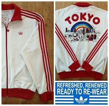 ADIDAS ORIGINALS TOKYO TRACK JACKET Zipped Size L Tracksuit Top IMPORT RARE