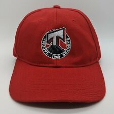 TACOMA RAINIERS MiLB Since 1960 Embroidered Logo Hat Strapback Cap Red NEW