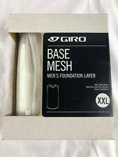 Giro Men's Base Mesh Baselayer Sleeveless Size Xxl White (4m)