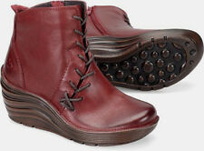 $180 NEW Womens 9M Bionica Corset Boot Leather Russett Red