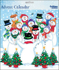 We Wish You A Merry Christmas Snowmen Advent Calendar Caltime 230 x 230 mm