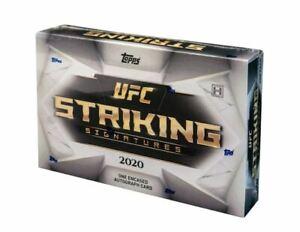 2020 Topps UFC Striking Signatures | BREAK | 2 Box | Serial Break