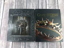 Game Of Thrones Complete Seasons 1 And 2 Blue Ray Dvds...2t