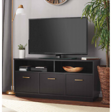 "50"" TV Stand Console Cabinet Entertainment Center Media Storage Table Black"