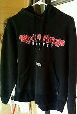Detroit Red Wings Hockey Sweatshirt NHL CCM Pullover Vintage Hoodie Jacket Med.