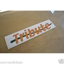 TRIGANO Tribute - (CUT VINYL) - Motorhome Name Sticker Decal Graphic - SINGLE