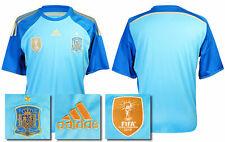2013 2015 BNWT España Home Portero + FIFA 2010 ganadores Parche Camisa Tamaño Grande