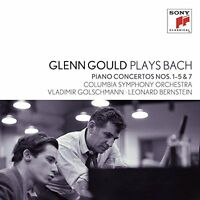 Gould Glenn - Glenn Gould plays Bach Piano Concertos Nos 1  5 [CD]