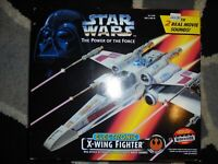 STAR WARS POTF ELECTRONIC X-WING FIGHTER 1995 - COMPLETE factory sealed