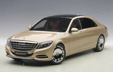 AUTOART MERCEDES BENZ MAYBACH S CLASS S600 CHAMPAGNE GOLD 1:18 *New Item!