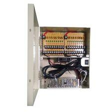 LTS Power Supply Distribution Box 12V DC 18 Ports 12 Amps PTC DV-AT1212A-D18P