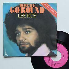 """Vinyle 45T Lee Roy  """"Here we go round"""""""