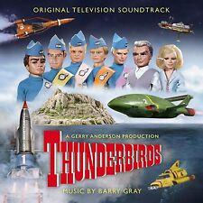 Barry Gray - OST : Thunderbirds LTD Sky Blue 2LP Sent Sameday*