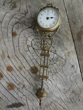 Junghans swinger clock arm/movement, as is for restoration, no reserve