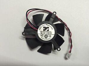 For ARX FS1250-A1042A6FL DC 12V 0.19A 2-Wire Server Round Fan