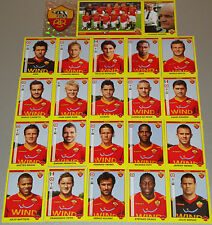 FIGURINE CALCIATORI PANINI 2009-10 SQUADRA ROMA CALCIO FOOTBALL ALBUM
