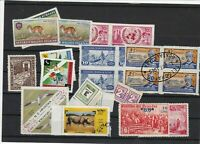 unofficial + fiscal type stamps ref 16665