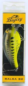 Bagley Balsa B2 Crankbait Baby Bass 7/16 oz 2.5 in BB2-BB Fishing Lure