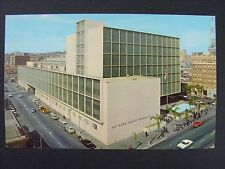 San Diego California County Courthouse Old Cars Curt Teich Vintage Postcard 1962