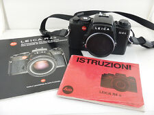 Leica R4 S R4s + Istruzioni Instructions Leitz Excellent Condition Body