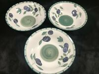 Set of 3 Tabletops Unlimited OLIVE GARDEN Soup Salad Bowls B