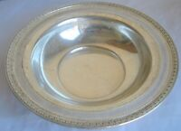 "Vintage Watson Company A926 Sterling Silver 8 1/2"" Dish Bowl  Collectible L2"