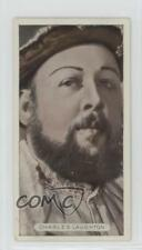 1934 Ardath Famous Film Stars Tobacco Base #27 Charles Laughton Card 0iu