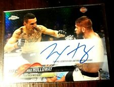 Max Holloway Refractor Auto, 2018 Topps UFC Chrome