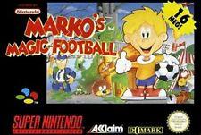 Nintendo SNES Spiel - Marko's Magic Football mit OVP NEUWERTIG