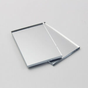 A4 Silver Acrylic Mirror Sheet Plastic Material Panel Cut to Size