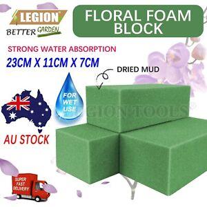 2/4/12/24pcs Floral Foam Bricks Wet Premium Quality Green Styrofoam Foam Blocks