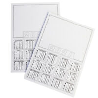 2021 Calendar A4 blanks White Mini Calender Year To View / Make Your Own